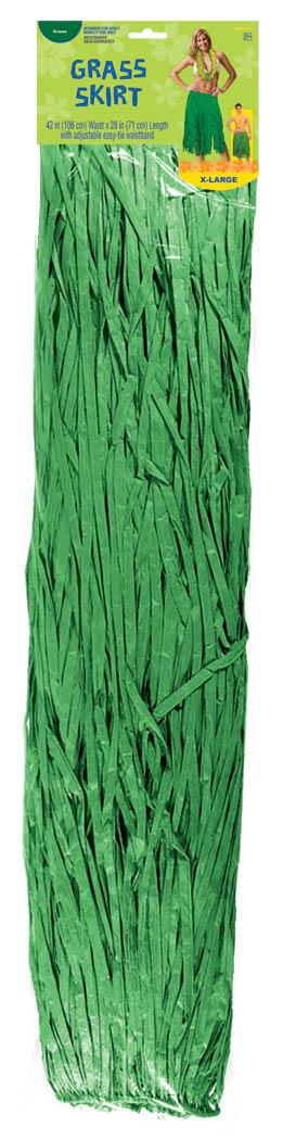 Adult XL Grass Skirt – Green