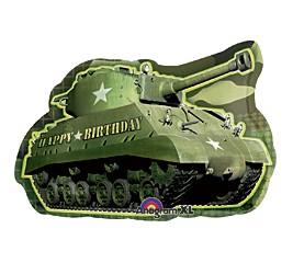 Army Tank Birthday Super Shape Balloon