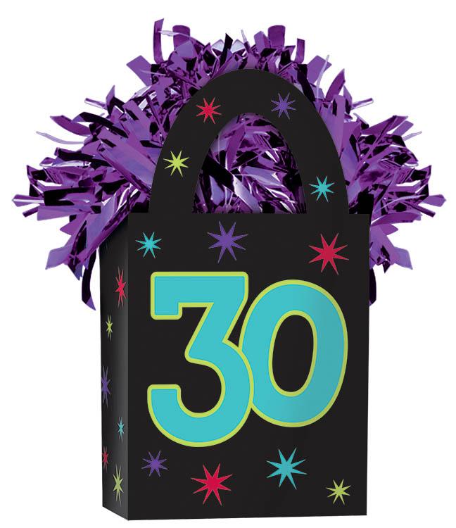 30th Birthday Balloon Weight