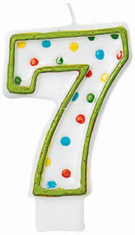 #7 Candle Polka Dots