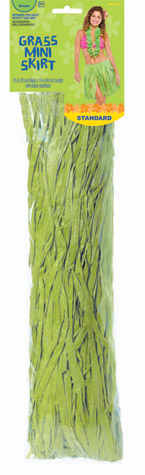 Adult Tissue Hula Skirt – Green