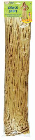 Adult XL Grass Skirt – Natural