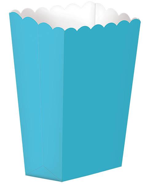 large paper popcorn boxes u2013 caribbean blue