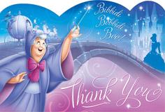 Disney Cinderella Thank You Cards