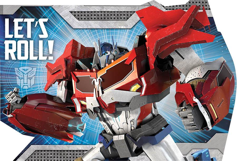 Transformers Core Invitations