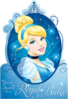 Disney Cinderella Invitations