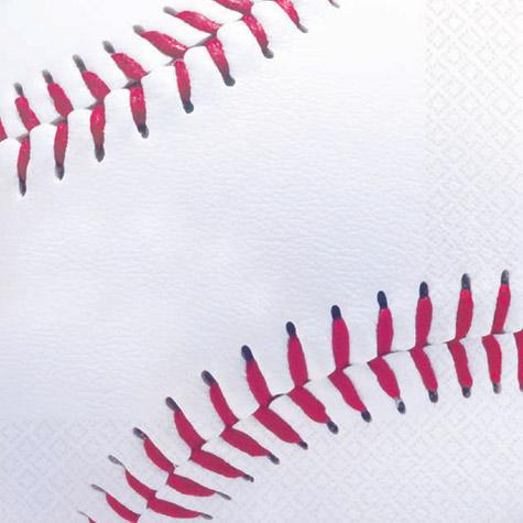 Baseball Beverage Napkins