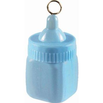 Baby Bottle Balloon Weight – Pastel Blue