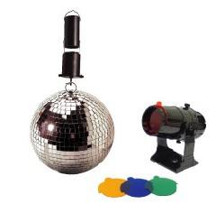 Compact Mirror Ball Set
