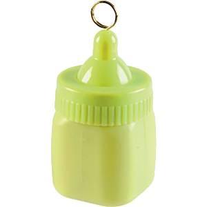 Baby Bottle Balloon Weight – Light Green