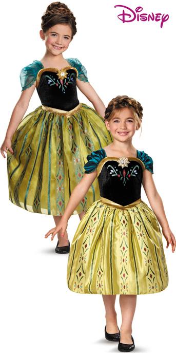 Anna Coronation Gown (Frozen) & Dlx