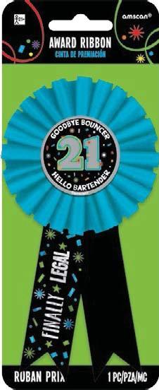 21st Birthday Award Ribbon