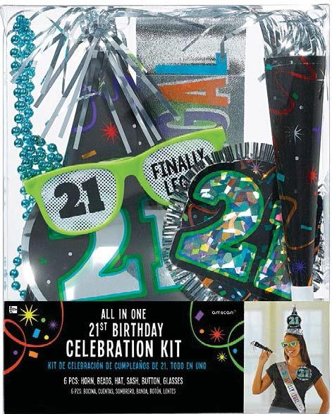 21st Birthday Celebration Kit