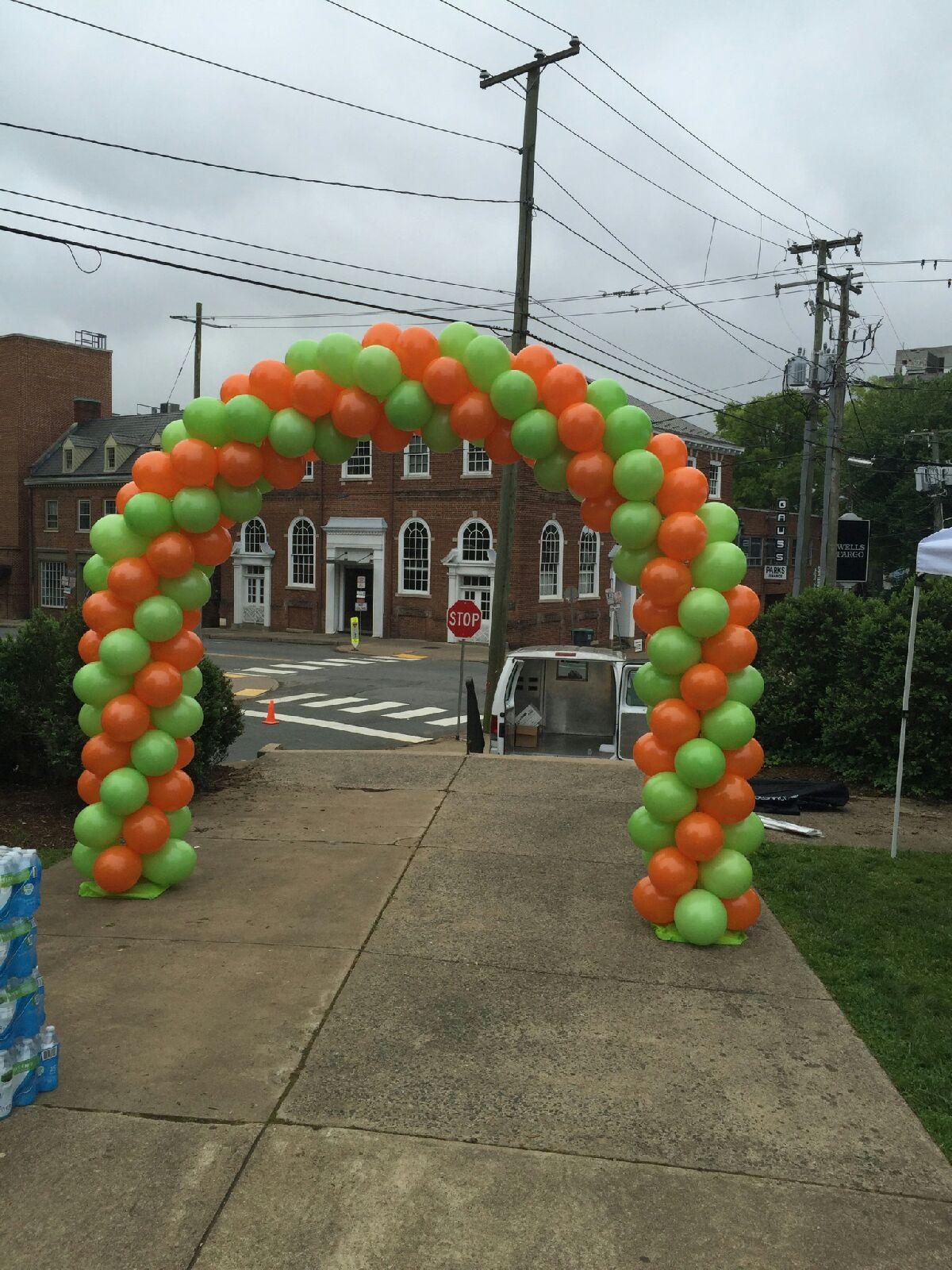 Air-Filled Balloon Arch
